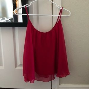 Really pretty violet pink tank top